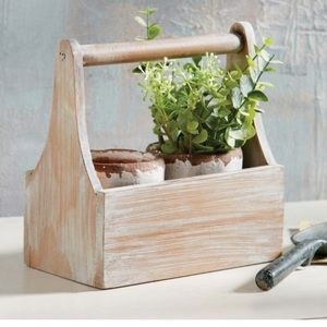 Mud Pie Herb Caddy Set